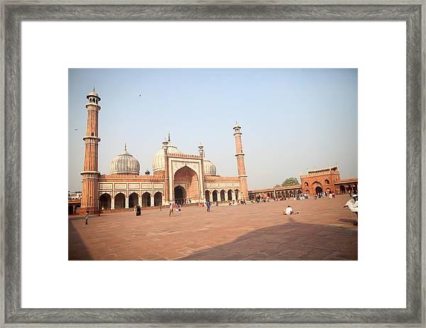 Jama Masjid, New Delhi, India Framed Print by BDphoto