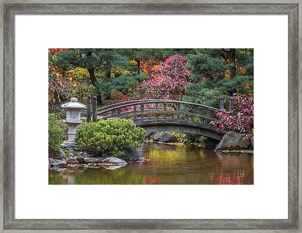 Japanese Bridge Framed Print