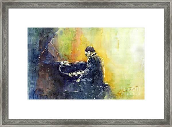 Jazz Herbie Hancock  Framed Print