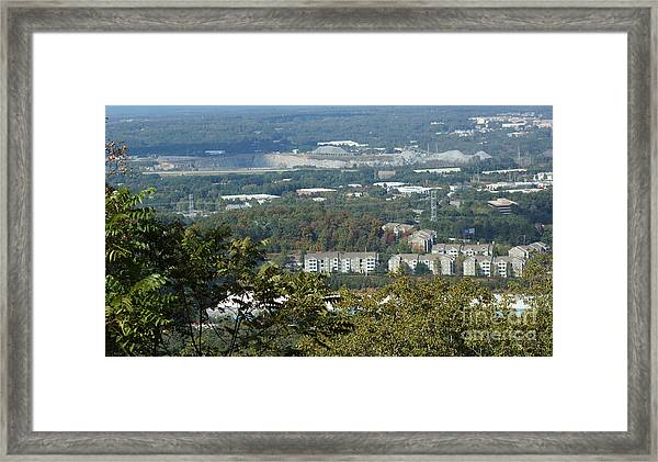Kennesaw Battlefield Mountain Framed Print