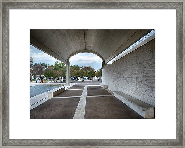Kimbell Art Museum Fort Worth Framed Print