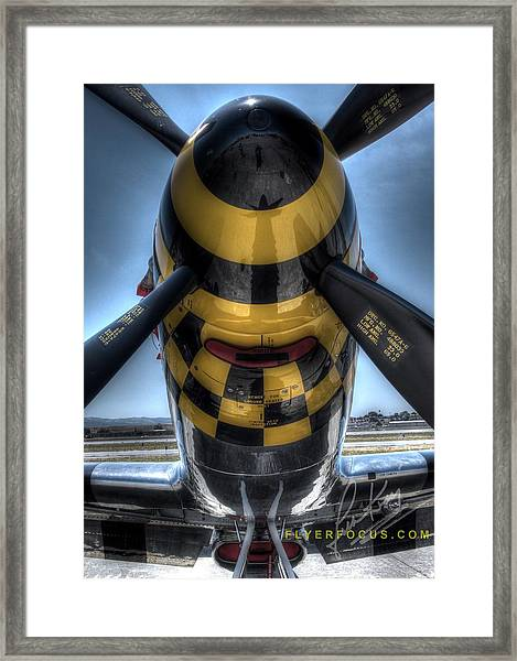 Kimberly Kaye Signature Edition N451tb At Hollister Framed Print by John King