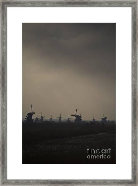 Kinderdijk Framed Print
