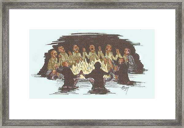 Kumbaya Framed Print