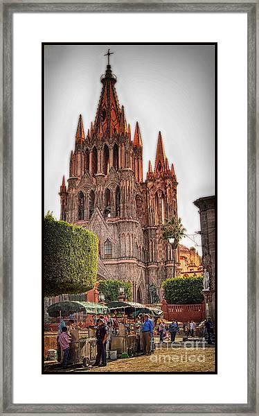 La Parroquia Framed Print