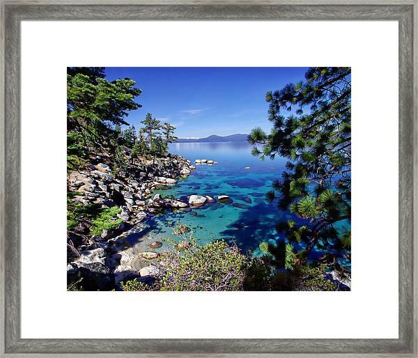 Lake Tahoe Swimming Hole Framed Print