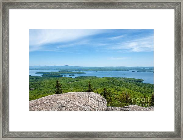 Lake Winnipesaukee Framed Print