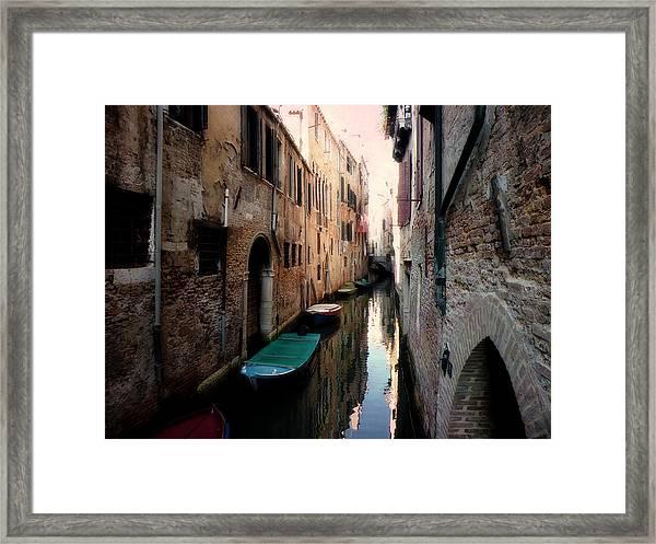 L'aqua Magica  Framed Print