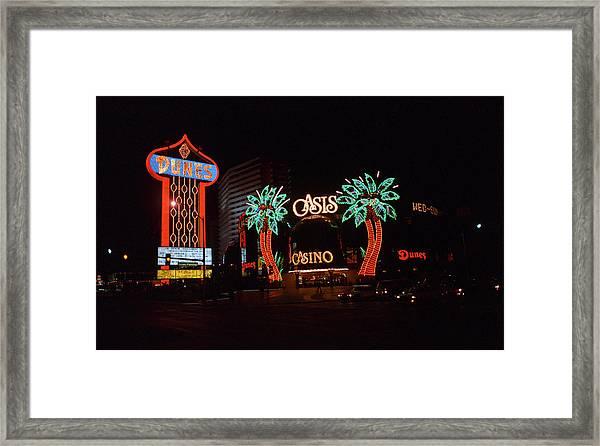 Las Vegas 1983 #2 Framed Print