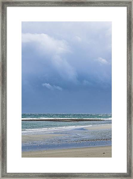Layers Of March Framed Print by Tom Trimbath