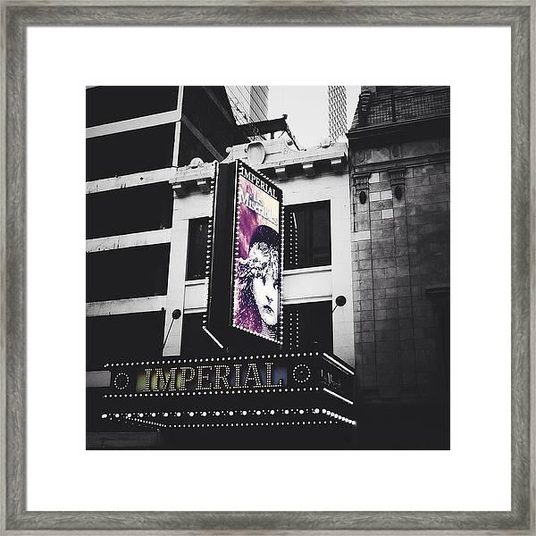Les Miz Framed Print