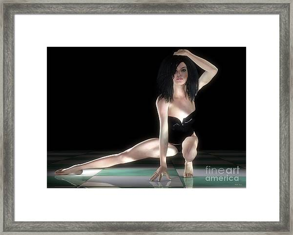 Light And Shadow Framed Print by Sandra Bauser Digital Art