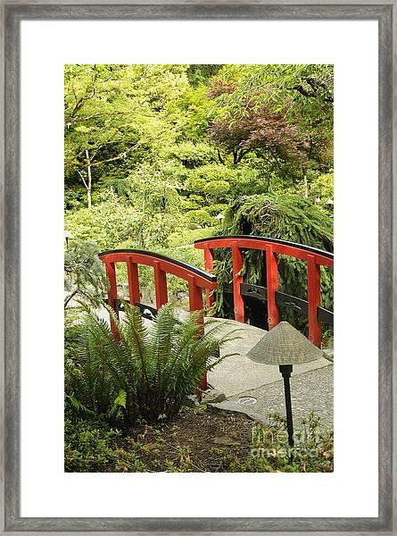 Little Red Bridge Framed Print