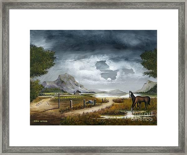 Loch Lomand Framed Print