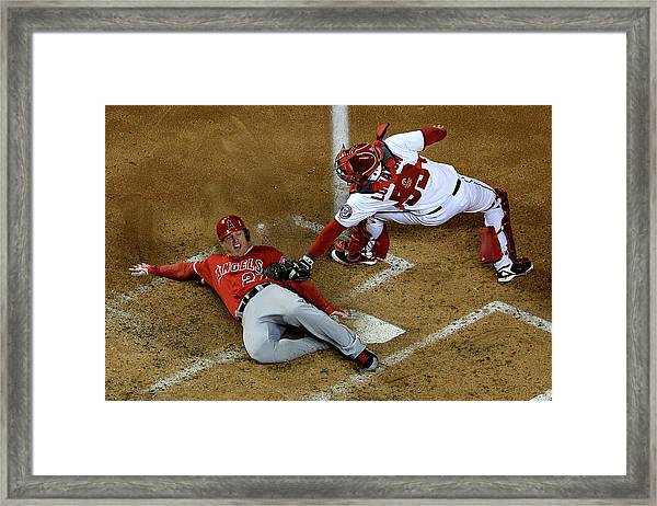 Los Angeles Angels Of Anaheim V Framed Print