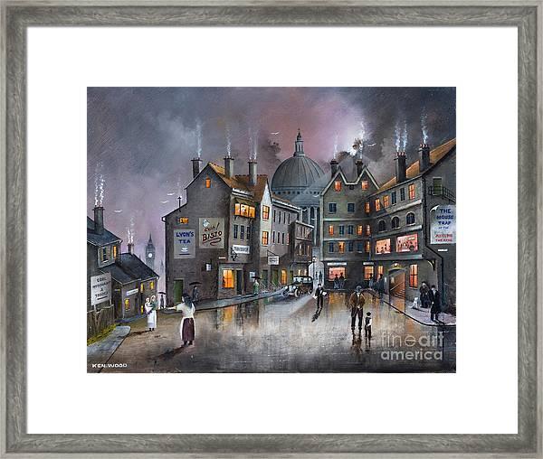 Ludgate Hill Framed Print