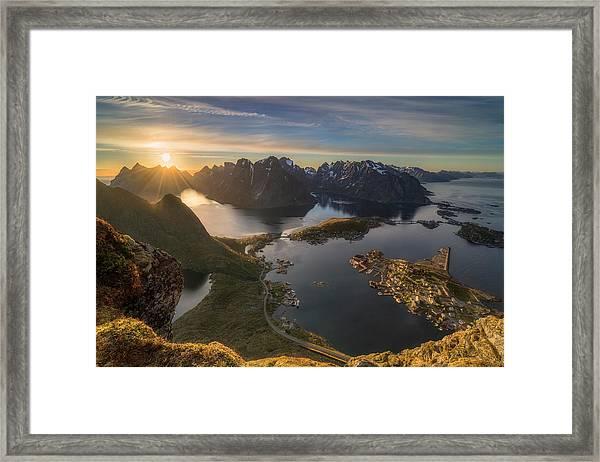 Magic Moment Framed Print