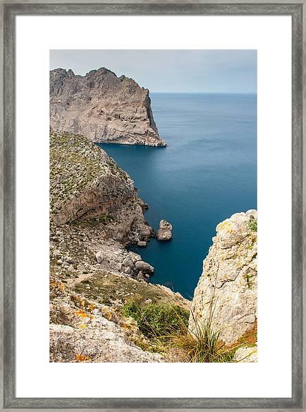 Mallorca View Framed Print