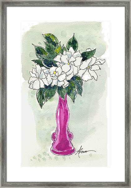 Mama's Vase Framed Print