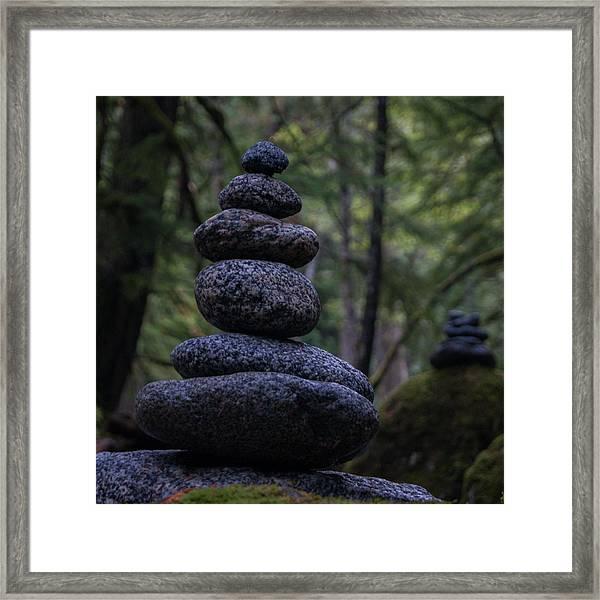 Man Of Stone Framed Print