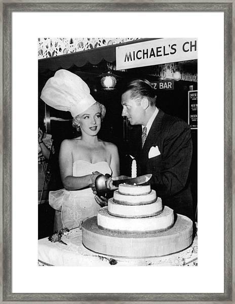 Marilyn Monroe Framed Print