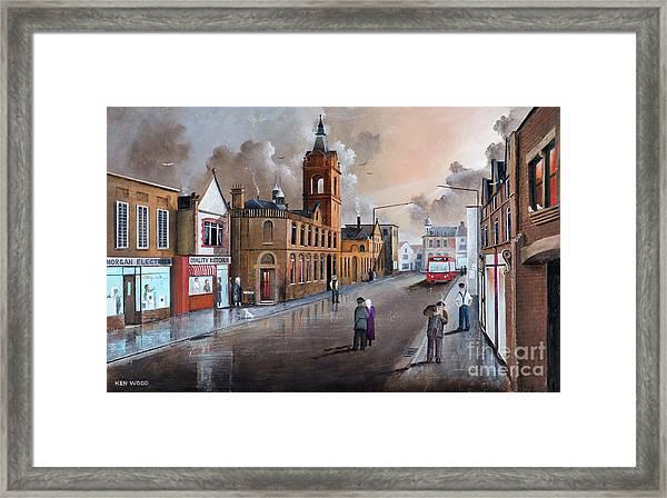 Market Street - Stourbridge Framed Print