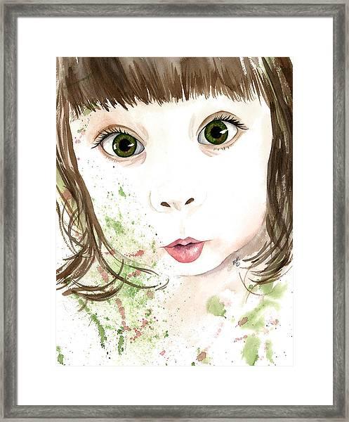 Embrace Wonder Framed Print