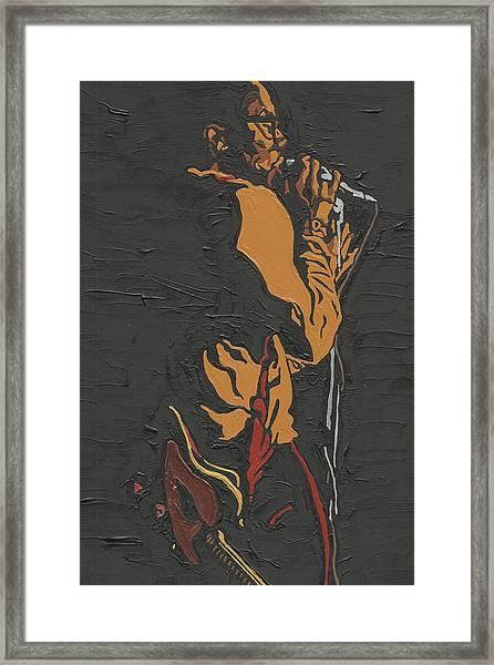 Martin Luther Mccoy Framed Print