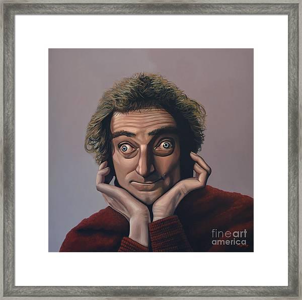 Marty Feldman Framed Print