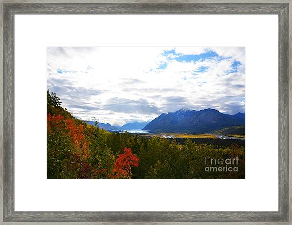 Framed Print featuring the photograph Matanuska Glacier by Kate Avery