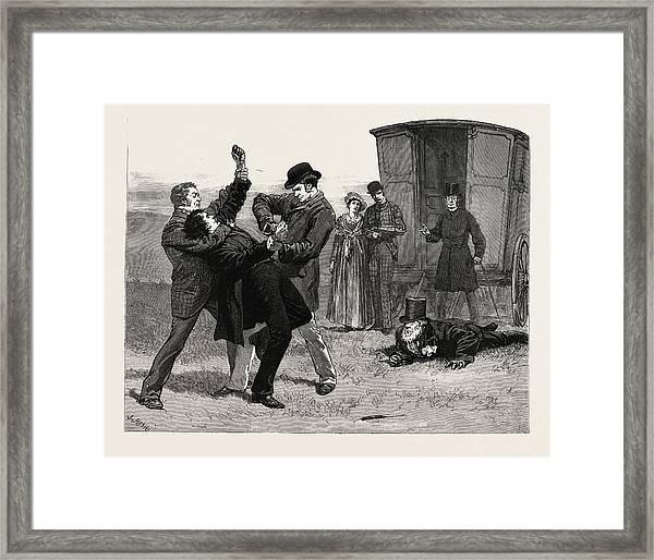 Matt Framed Print by Nash, Joseph (1809-78), English