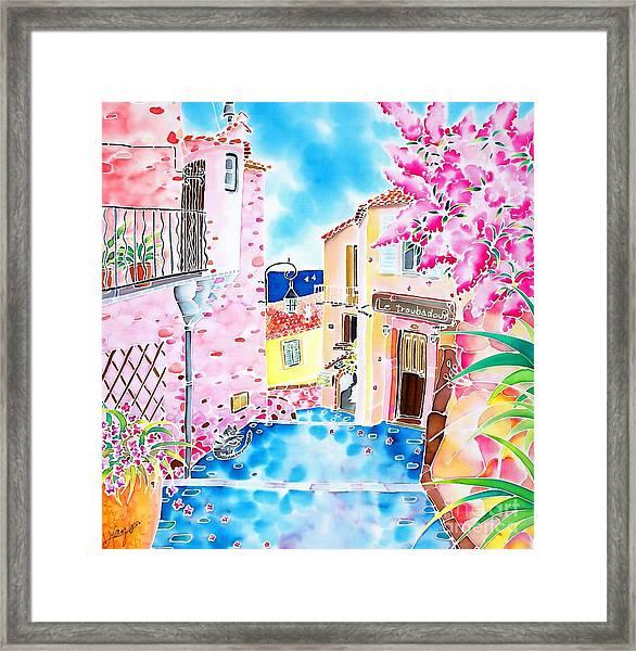 Mediterranean Wind Framed Print