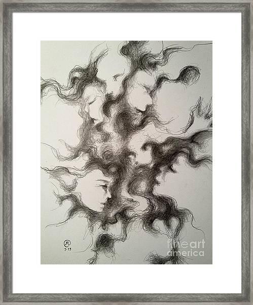Minds In The Matter Framed Print