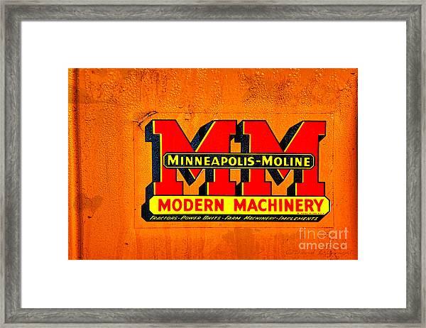Minneapolis Moline Framed Print