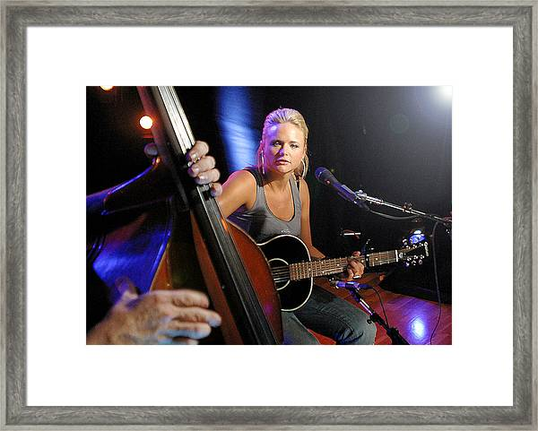 Miranda Lambert Framed Print by Don Olea