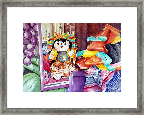 Mirror Mirror On The Wall Framed Print