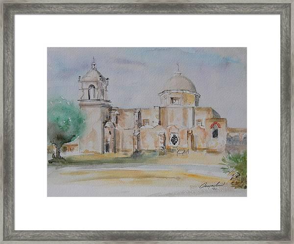 Mission San Jose Framed Print by David Camacho