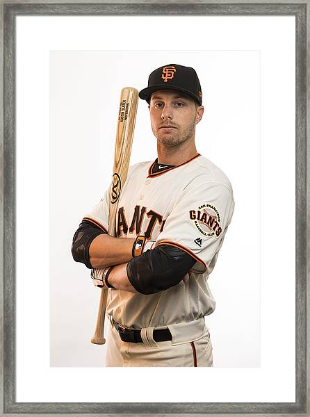 Mlb: Feb 20 San Francisco Giants Photo Day Framed Print by Icon Sportswire