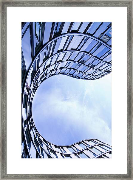 Modern Office Architecture Framed Print by Mf-guddyx
