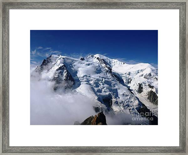 Mont Blanc - France Framed Print