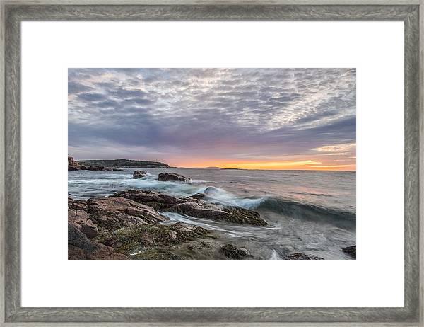 Morning Splash Framed Print