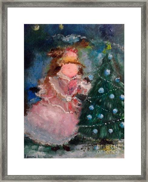 Mother Christmas Framed Print