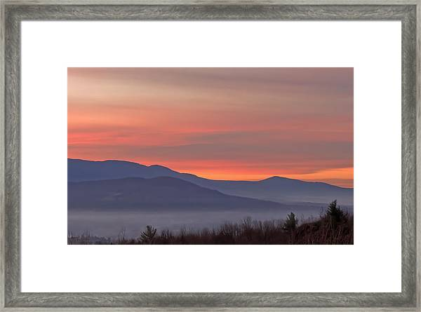 Mountain Sunrise 1 Framed Print