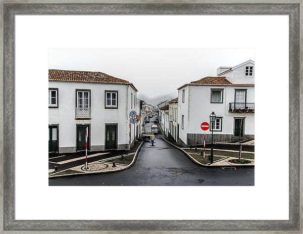 Municipality Of Ribeira Grande Framed Print