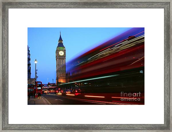 Must Be London Framed Print