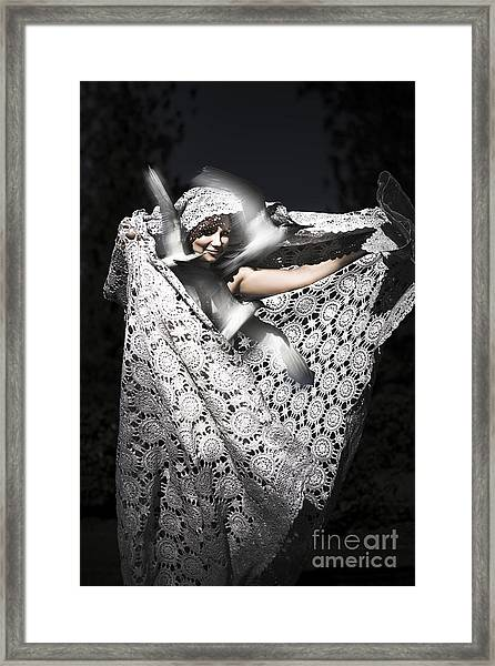 Mystical Freedom Release Framed Print
