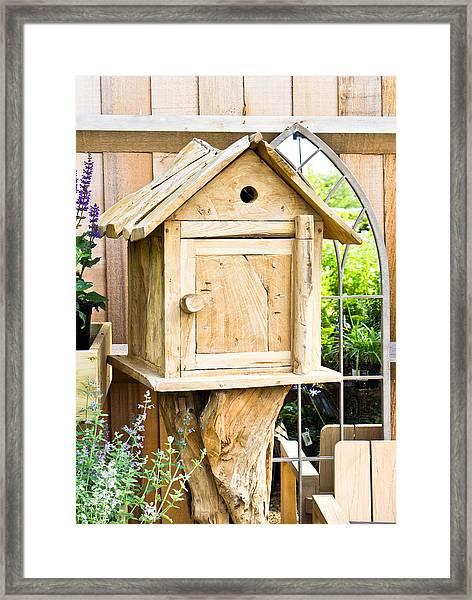 Nesting Box Framed Print