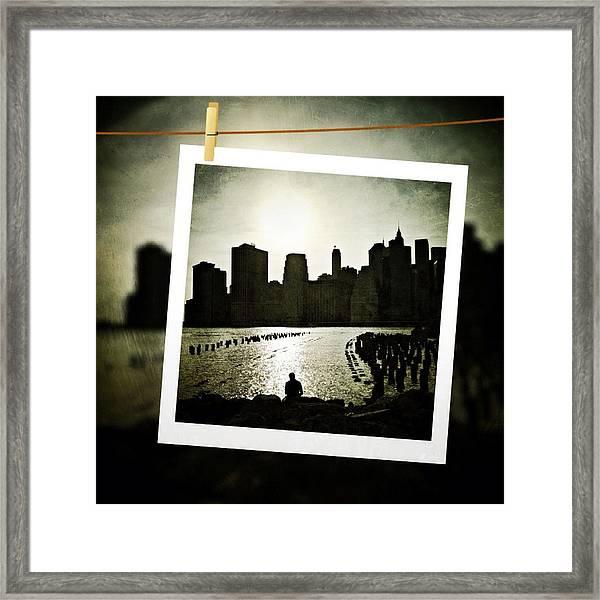 New York In June Framed Print