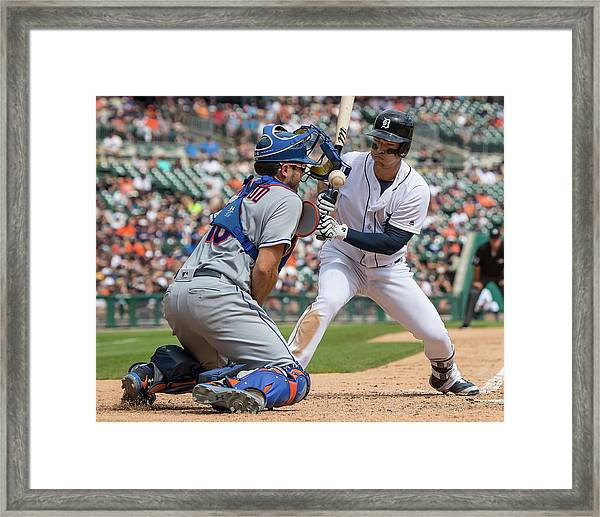 New York Mets V Detroit Tigers Framed Print