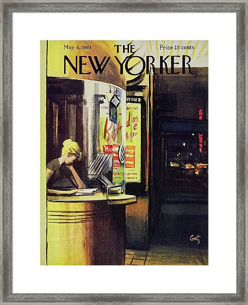 New Yorker May 6th 1961 Framed Print